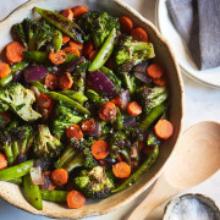 Family Size Fresh Garden Vegetables